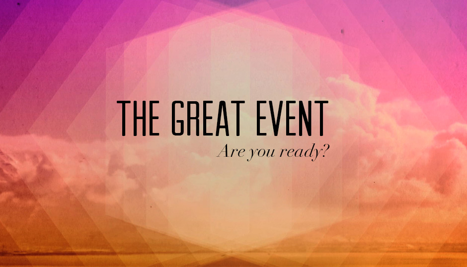 The Great Event sermon series from RightConnection Church in Lexington.